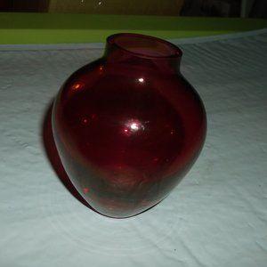art glass vase 4 inches